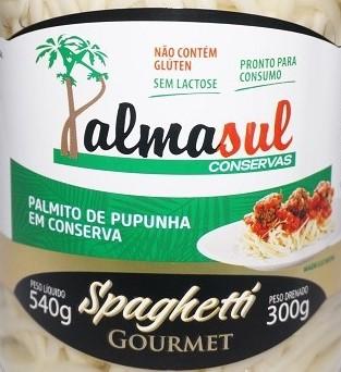 Spaghetti Pupunha